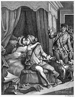 Infidelity Photograph - Infidelity, 18th Century by Granger