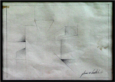 Drawing - Infinity 1969 by Glenn Bautista