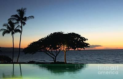 Photograph - Infinity Pool In Kauaii by Terri Thompson