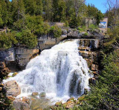 Photograph - Inglis Falls by George Hawkins
