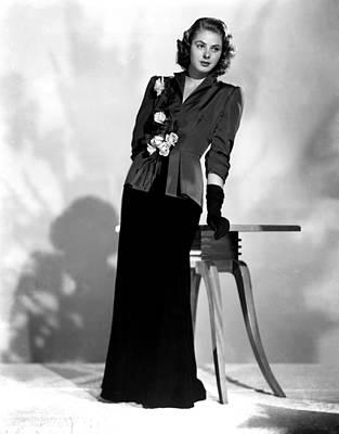 Ingrid Bergman, Early 1940s Art Print