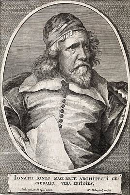 Inigo Jones, British Architect Art Print by Middle Temple Library