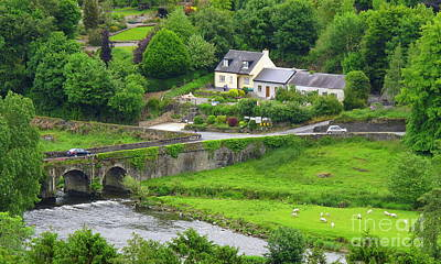 Inistioge In Ireland Art Print