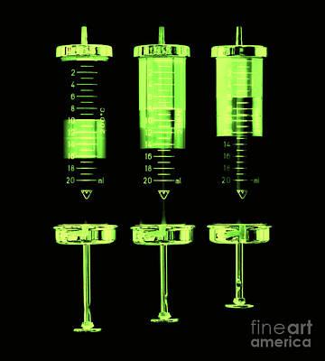 Injection Art Print by Michal Boubin