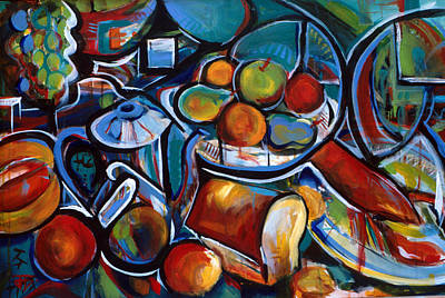 Painting - Inner Feast by John Jr Gholson