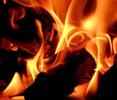 Photograph - Inner Fire by Mark Lehar