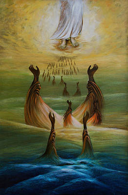 Liberation Painting - Inner World 11 by S Jaswant