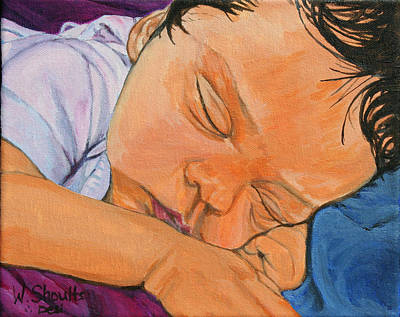 Art Print featuring the painting Innocence by Wendy Shoults