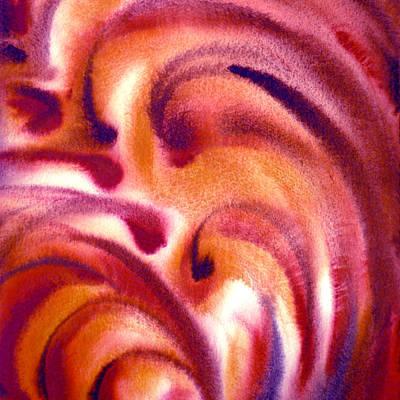 Abstractions Painting - Inpiration One C by Irina Sztukowski