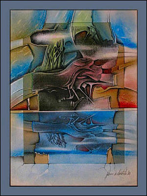 Mixed Media - Inscape 2002 by Glenn Bautista