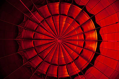Photograph - Inside A Hot Air Balloon by Anthony Doudt