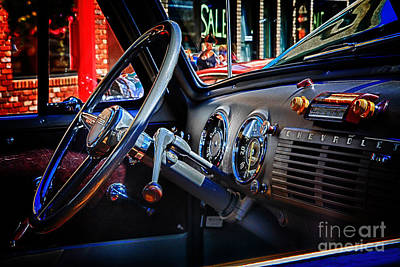 Inside Chevy Print by Lori Frostad