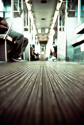 Inside The L At A Low Angle Art Print