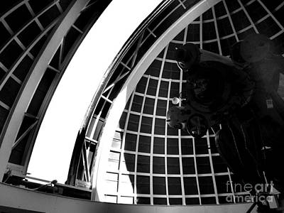 California Photograph - Inside The Observatory Dome by RJ Aguilar