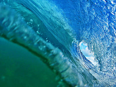 Seascape Photograph - Inside The Pipeline I by Paul Topp