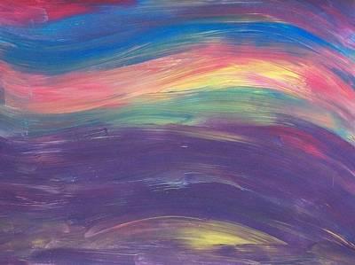 Inside The Rainbow Art Print by Jeanette Stewart