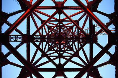 Tower Crane Photograph - Inside Tower Of Crane by Masahiro Hayata