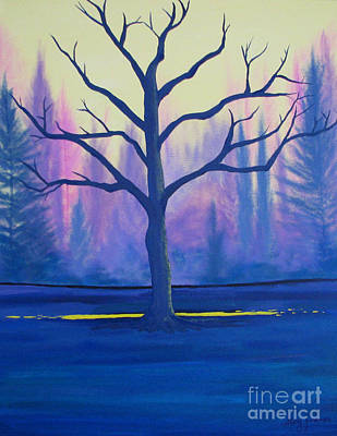 Inspiration Tree Art Print by Stacey Zimmerman