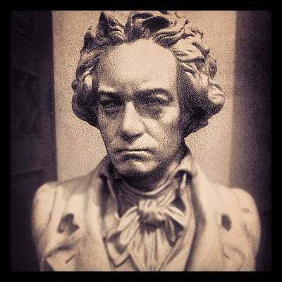 Beethoven Photograph - #instagram #iphonesia #indonesia #music by Trakinaz Yuditz