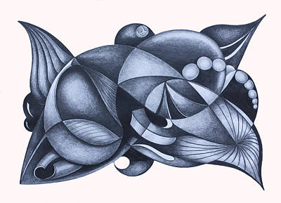Suggestive Drawing - Instinctive Creations 109 by Lonnie Tapia
