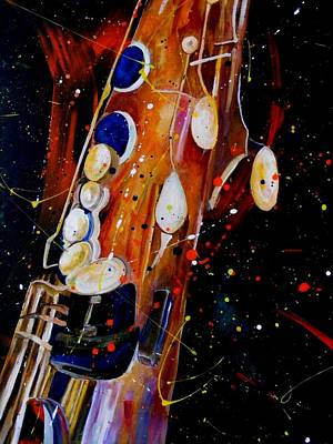 Painting - Instrument Of Choice by Pearlie Taylor
