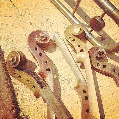Instrument Photograph - #instrument by Syl Dom