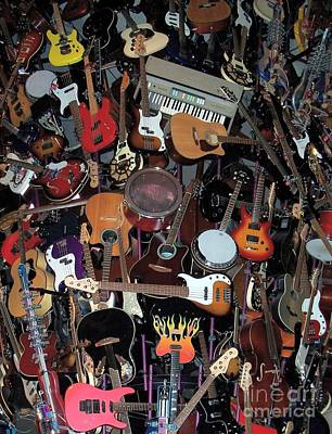 Photograph - Instruments by Chalet Roome-Rigdon