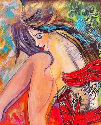 Intangible Feeling Art Print by Niloufar Hoveyda