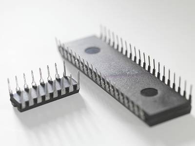 Integrated Photograph - Integrated Circuits by Tek Image