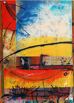 What Is Life Mixed Media - Interior Spaces by Jorge Luis Bernal
