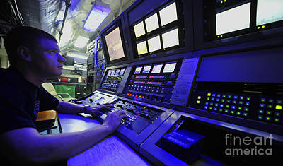 Control Center Photograph - Internal Communications Electrician by Stocktrek Images
