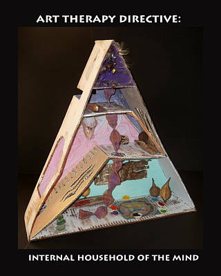 Art Therapy Sculpture - Internal Household Of The Mind by Anne Cameron Cutri