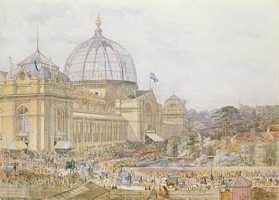 Talking Painting - International Exhibition by Edward Sheratt Cole