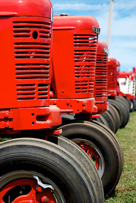 Photograph - International Farmall  2 by Mark Dodd