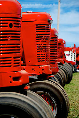 Photograph - International Farmall  by Mark Dodd