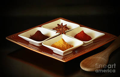International Kitchen Spices Art Print by Inspired Nature Photography Fine Art Photography