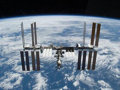 International Space Station In 2009 Art Print