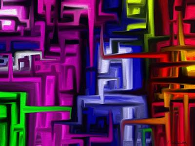 Digital Art - Interplex by Jennifer Galbraith