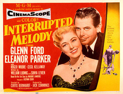 Interrupted Melody, Eleanor Parker Art Print by Everett