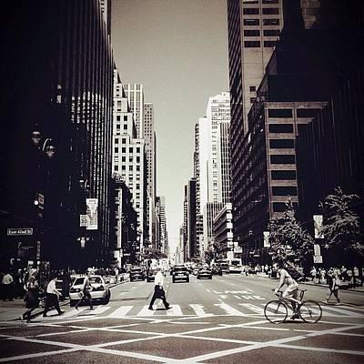 Intersection - New York City Art Print