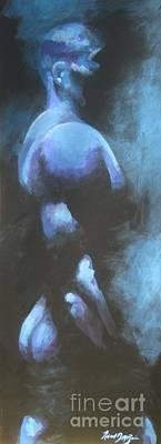 Painting - Into The Dark by Robert D McBain