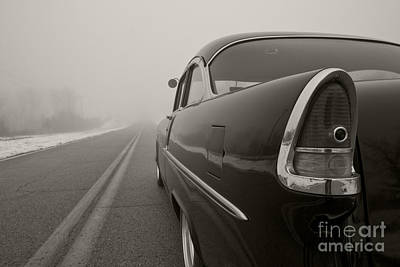 Into The Fog Art Print by Dennis Hedberg