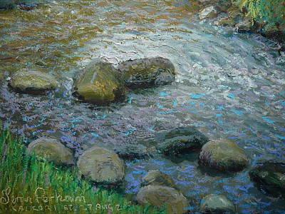 Pastel - Into The Light.kaikorai Stream by Terry Perham