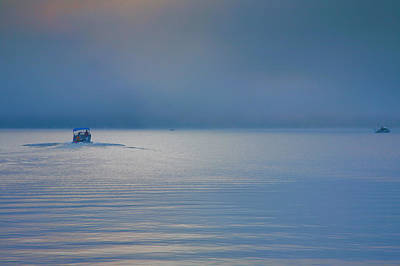 Finger Lakes Photograph - Into The Mist by Steven Ainsworth