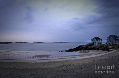 Into The Night In Cape Ann Art Print by Brenda Giasson