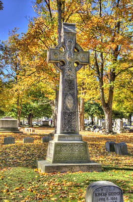 Elmira Ny Photograph - Intricate Cross by Laurie Cybulak