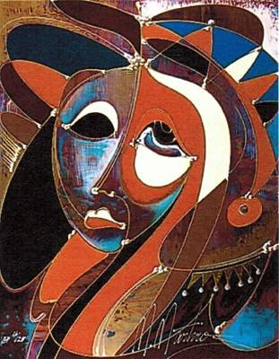 Number 34 Painting - Introspection by Martiros