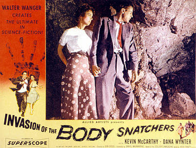 Invasion Of The Body Snatchers, Dana Art Print