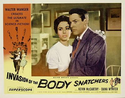 Invasion Of The Body Snatchers Art Print by Everett