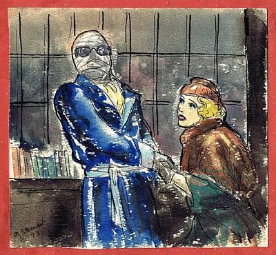 Invisible Man Art Print